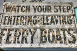 Ferry Boats Sign