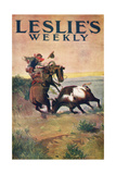 Charles Marion Russell - Leslies Weekly