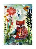 Baby Fox in the Garden