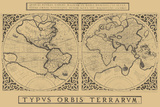 Mercator's World Map  1524