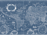 Blueprint World Map
