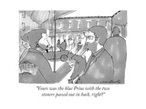 """""""Yours was the blue Prius with the two stoners passed out in back  right"""" - New Yorker Cartoon"""