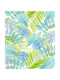 Watercolour Tropical Pattern 3