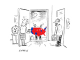 Scary Electoral Map Costume - Cartoon