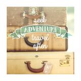 Travel Often Vintage Suitcases