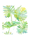 Watercolour Tropical Pattern 1