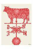 Weather Vane Cow