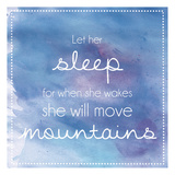 Sleeping Mountains