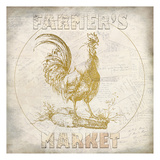 Golden Farmers Market Reproduction d'art par Kimberly Allen