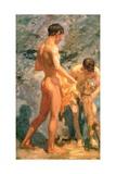Boys Bathing  1912