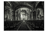 Cuba Church B&W