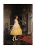 Lesley in the Studio  1923