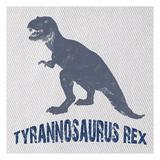 Tyrannosaurus Rex Reproduction d'art par Sheldon Lewis