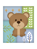 Woodland Bear Patchwork