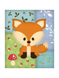 Woodland Fox Patchwork