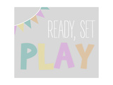 Ready  Set  Play - Grey