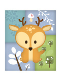 Woodland Deer Patchwork