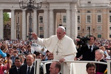 Pope Francis Attends His Weekly Audience in Saint Peter's Square