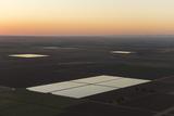 Flooded Farm Fields in the Usa Near San Luis  Arizona