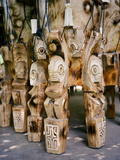 Fierce Tikis Support an Artisan's Drums in the Marquesas Islands