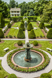 The Garden at Antrim 1844  a Restored Plantation House in Taneytown  Maryland