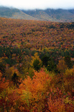 Fall Scenic View of the White Mountain Region of New Hampshire