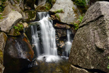 Paradise Falls Plunges into the Lost River Gorge in the White Mountain Region