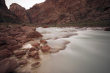 Mineral Rich Water Flowing in the Little Colorado River  Grand Canyon National Park