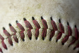 Detail Shot of a Baseball