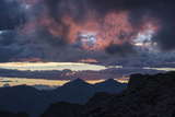 Dramatic Sky over Mount Evans Wilderness in Colorado