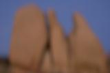 Eroded Granite Rocks at Joshua Tree National Park  California