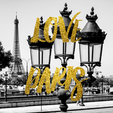 Paris Fashion Series - Love Paris - Parisian Lamppost