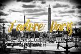 Paris Fashion Series - J'adore Paris - Place de la Concorde