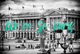 Paris Fashion Series - We're So Paris - Place de la Concorde IV