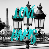Paris Fashion Series - Love Paris - Parisian Lamppost II