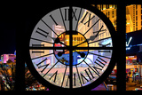 Giant Clock Window - View of the Las Vegas Strip V