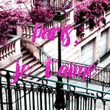 Paris Fashion Series - Paris  je t'aime - Stairs of Montmartre II