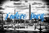 Paris Fashion Series - J'adore Paris - Place de la Concorde III