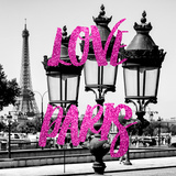 Paris Fashion Series - Love Paris - Parisian Lamppost III