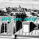 Paris Fashion Series - Paris mon amour - View of Roofs III