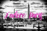 Paris Fashion Series - J'adore Paris - Place de la Concorde II