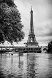 Paris sur Seine Collection - Along the Seine IV Papier Photo par Philippe Hugonnard