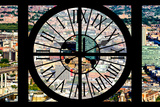 Giant Clock Window - View of Brooklyn