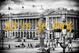 Paris Fashion Series - We're So Paris - Place de la Concorde