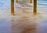 Under Ocean Beach Pier