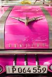 Pink Car in Cuba I