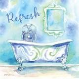 Watercolor Bath I