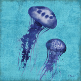 Indigo Jellyfish I