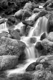 Trailside Waterfall II BW