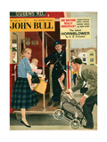 1950s UK John Bull Magazine Cover